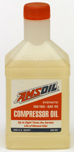 Synthetic pc series compressor oil iso 100 sae 40 for How long does synthetic motor oil last